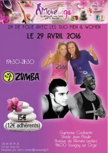 09 Stage Zumba DUo Me n& Women 29 avr 16
