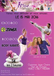 11 Stage Zumba Body Karate 15 mai 16