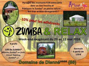 12 Weekend Zumba Relax 20-22 mai 16