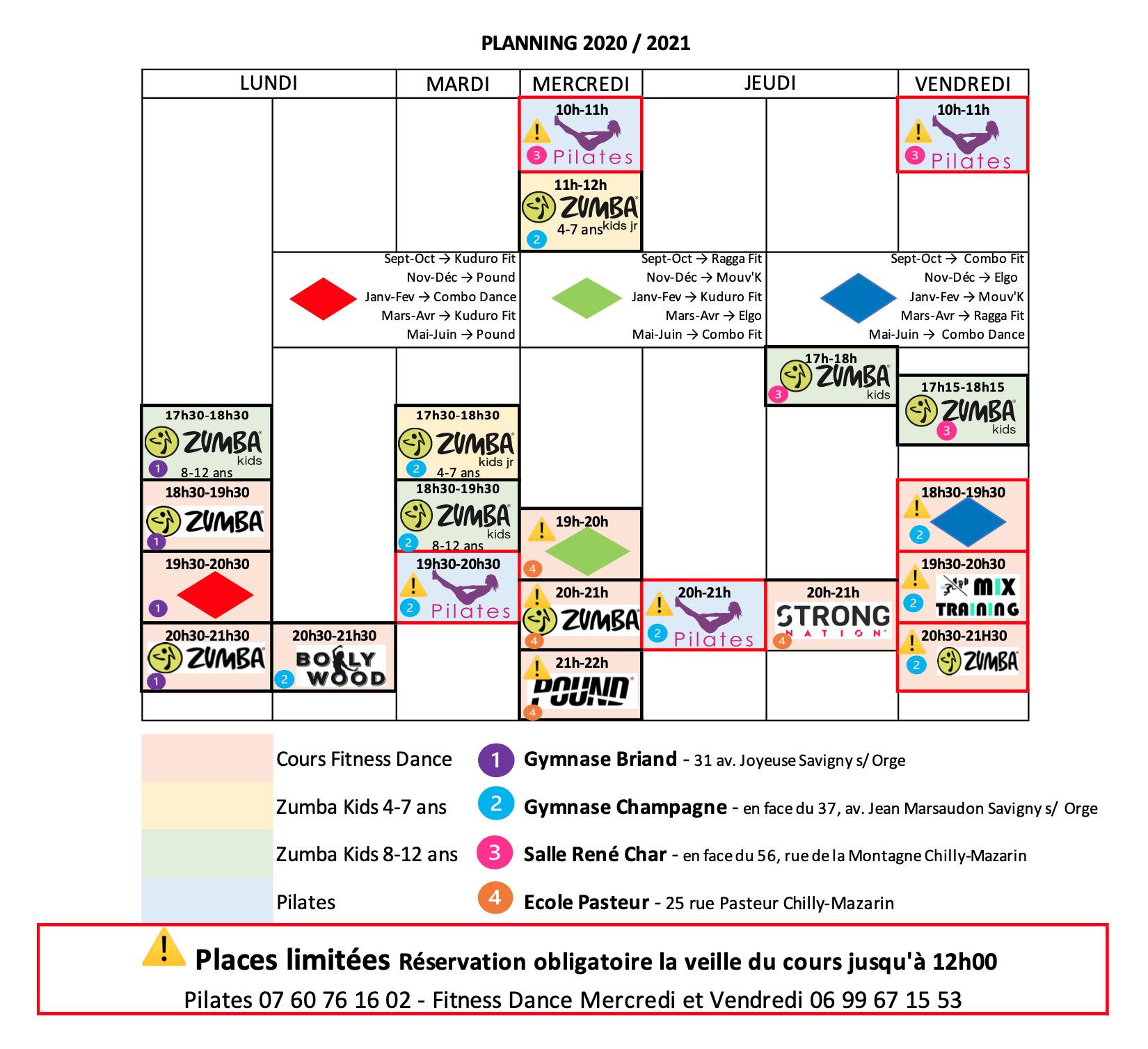 Planning 20202021
