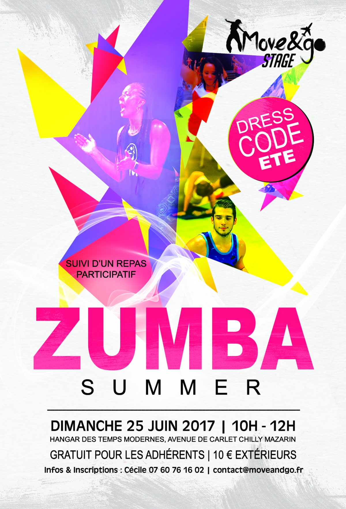 Flyer Stage Zumba Summer juin2017-2