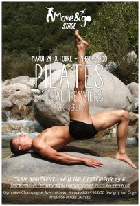 Flyer Stage Pilates Fessiers