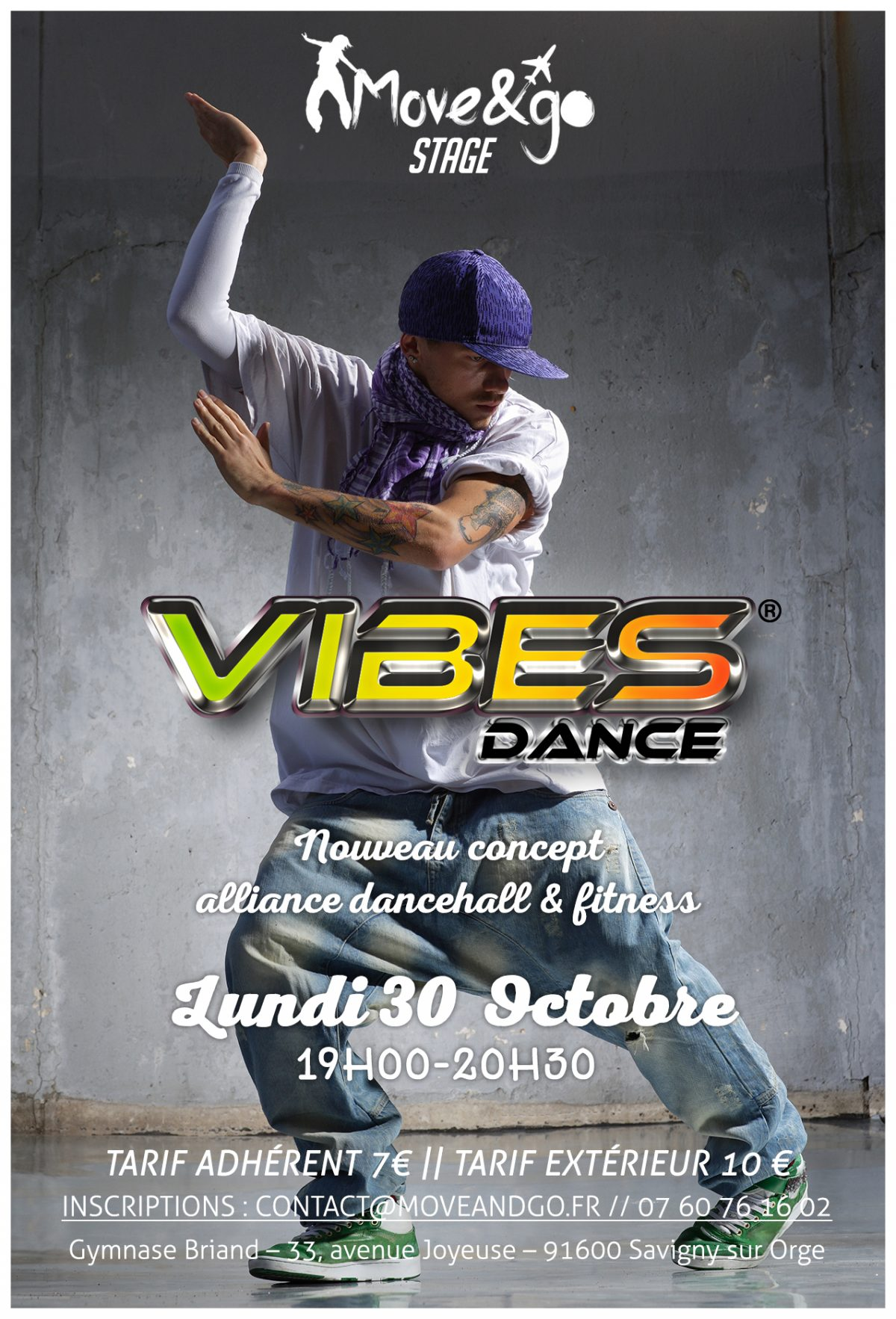 Flyer Vibes Dance 2017