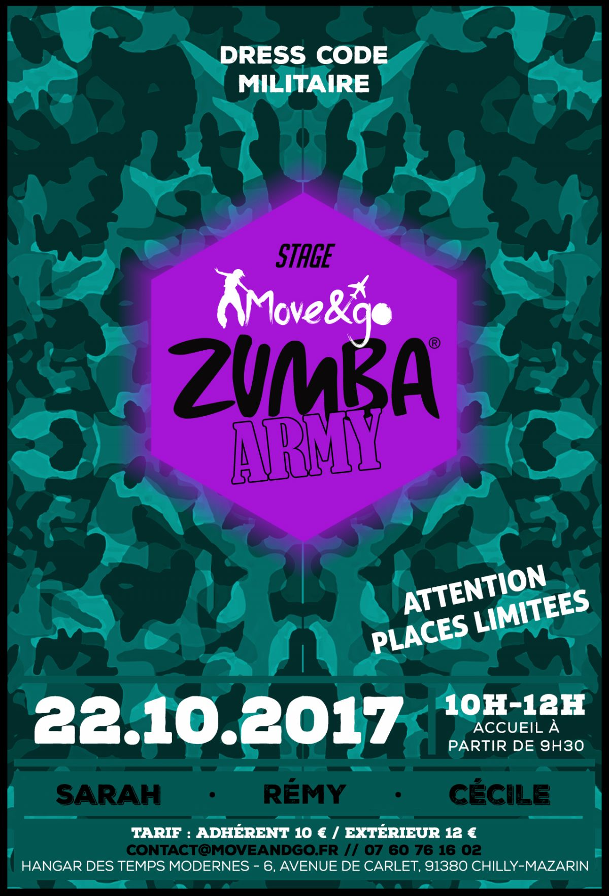 Flyer Zumba Army