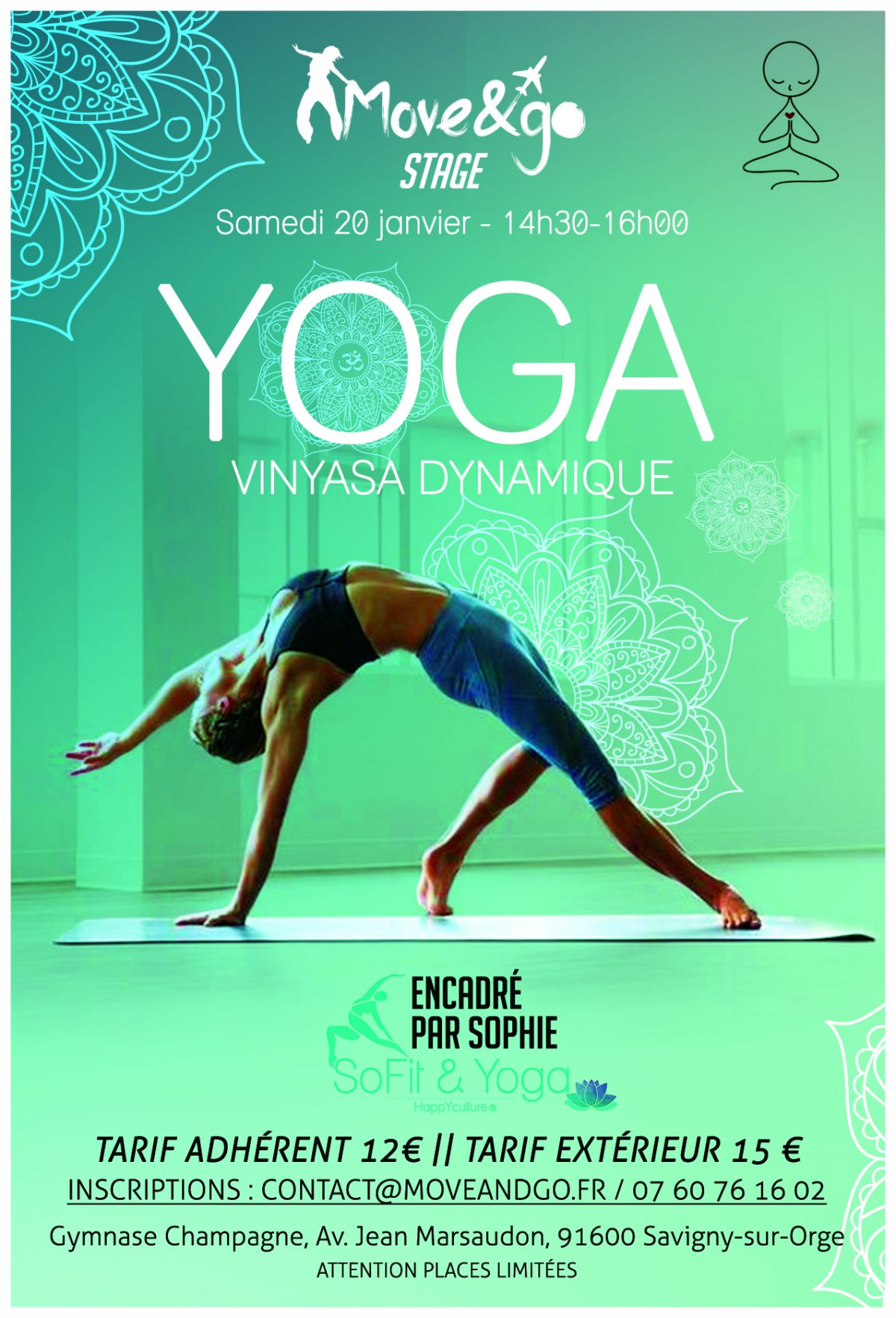 Flyer Stage Yoga Vinyasa