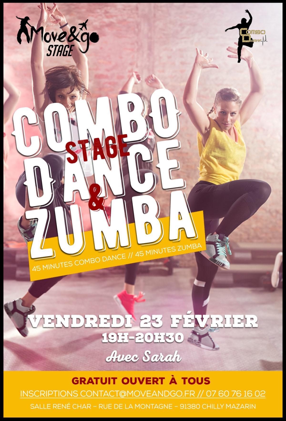 Flyer Stage Combo Dance-Zumba