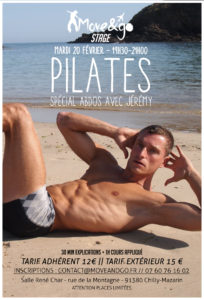 Flyer Stage Pilates 2018