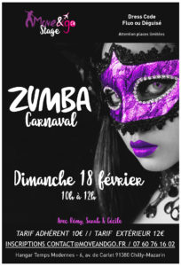 Flyer Zumba carnaval