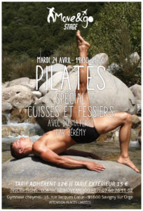 Flyer Stage Pilates Fessiers-Cuisses