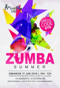 Flyer Stage Zumba Summer juin2018