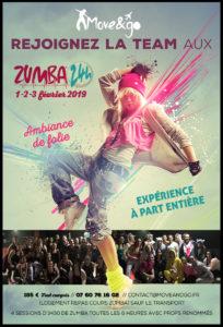 Flyer 24H Zumba 2019