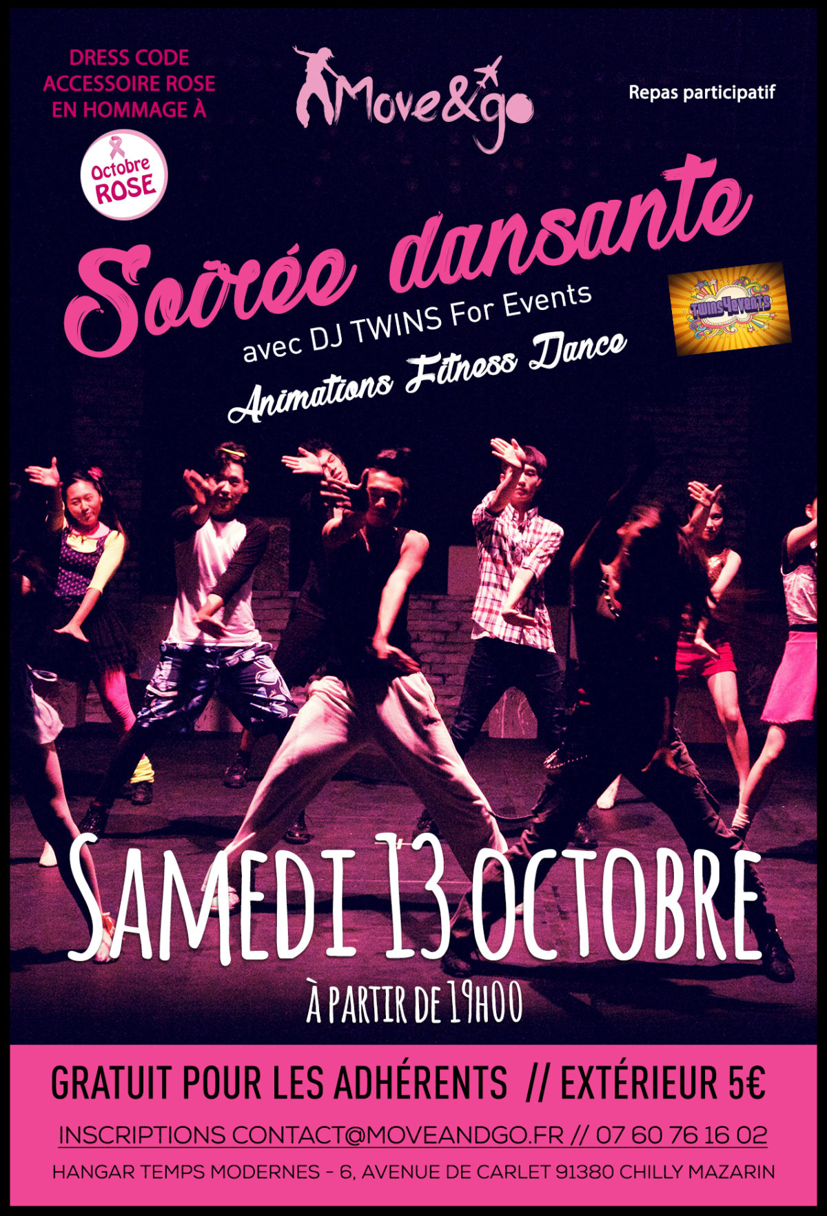 Flyer Soiree M&G