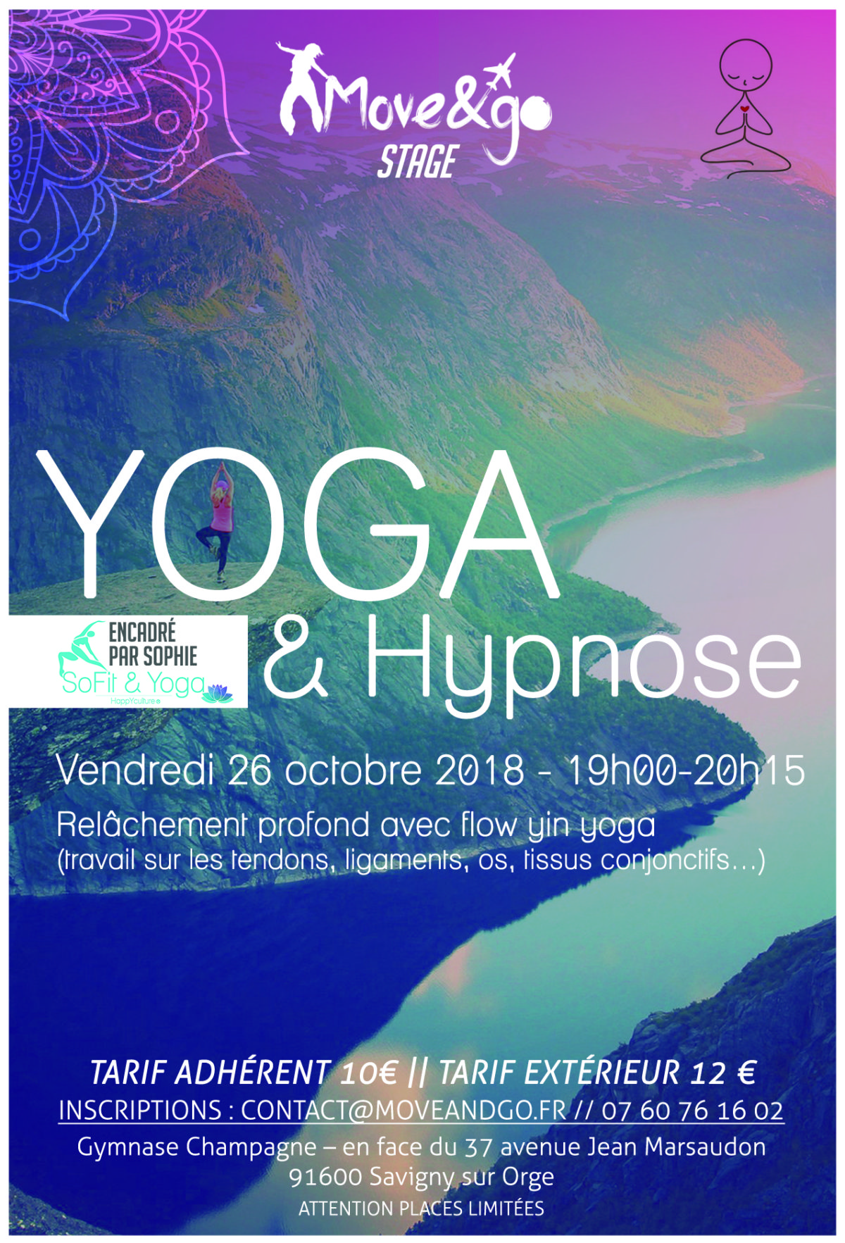 Flyer Stage Yoga 2018