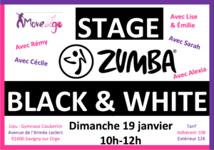 flyer stage Zumba 190120