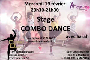 Flyer Stage Combo Dance 190220