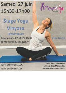 flyer Stage Yoga Vinyasa 270620