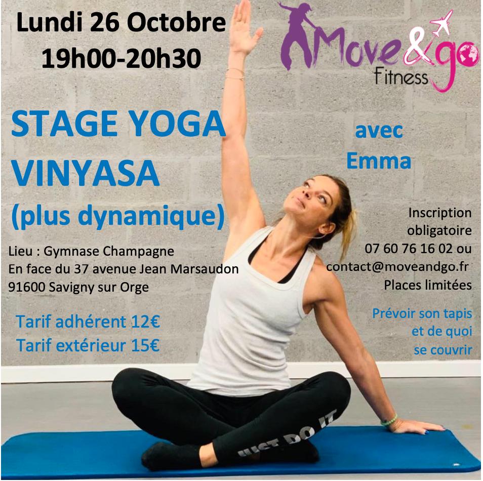 Stage Yoga Vinyasa 261020