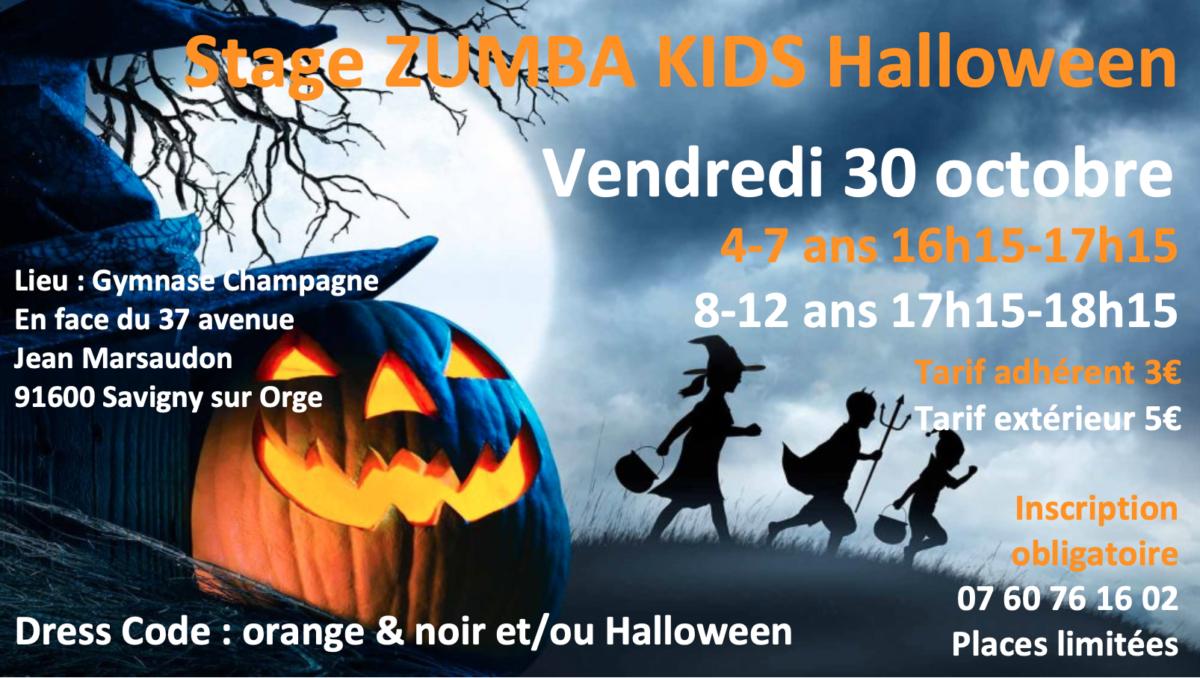 Stage Zumba Kids halloween 301020